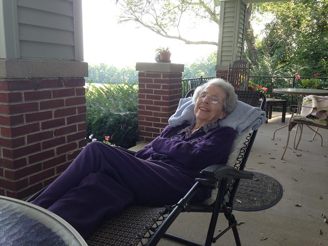 Mom reclining