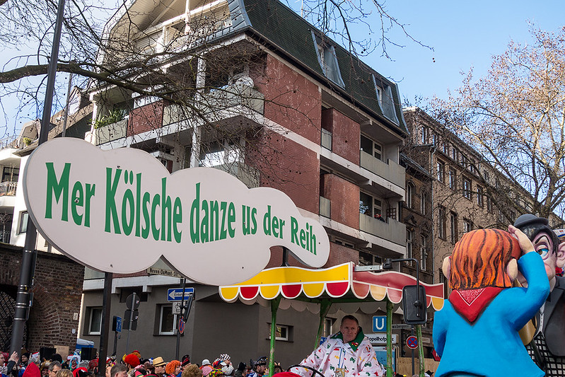 Rosenmontagszug 2018 - Köln
