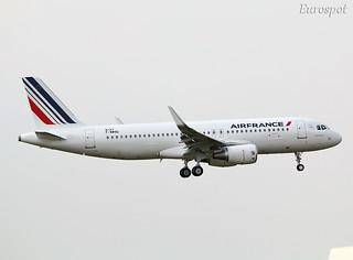 F-WWBG A320 Air France