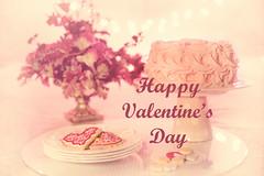 Happy Valentine's Day in Pink