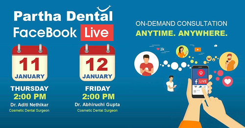 Facebook Live From Partha Dental
