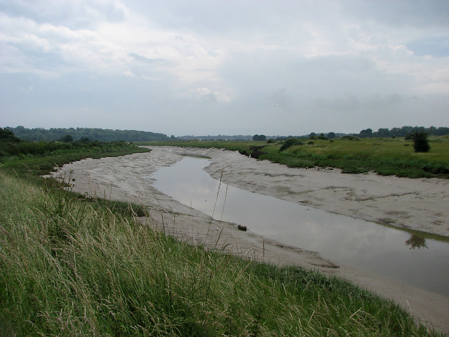 The River Colne near Wivenhoe