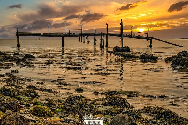 Thorney Island Sunset, Fujifilm X-T2, XF55-200mmF3.5-4.8 R LM OIS