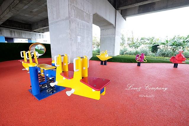 桃園國道高架橋下特色公園6