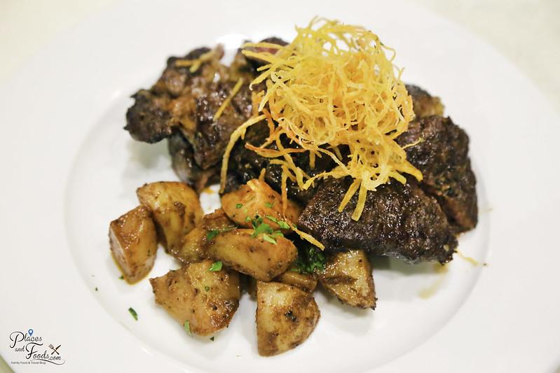 the cellar signature beef steak