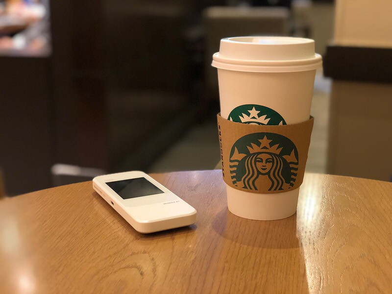 ポケットWi-Fiとカフェ