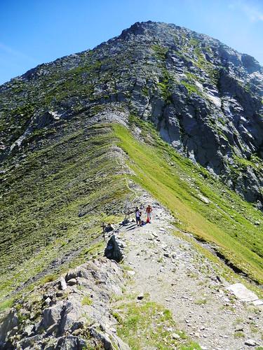 Lo spartiacque tra Val Germanasca e Val Pellice