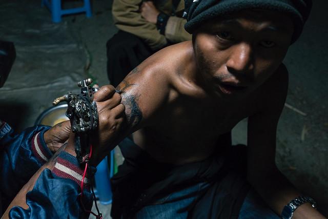 Street tattoo, Sony DSC-RX1RM2, 35mm F2.0