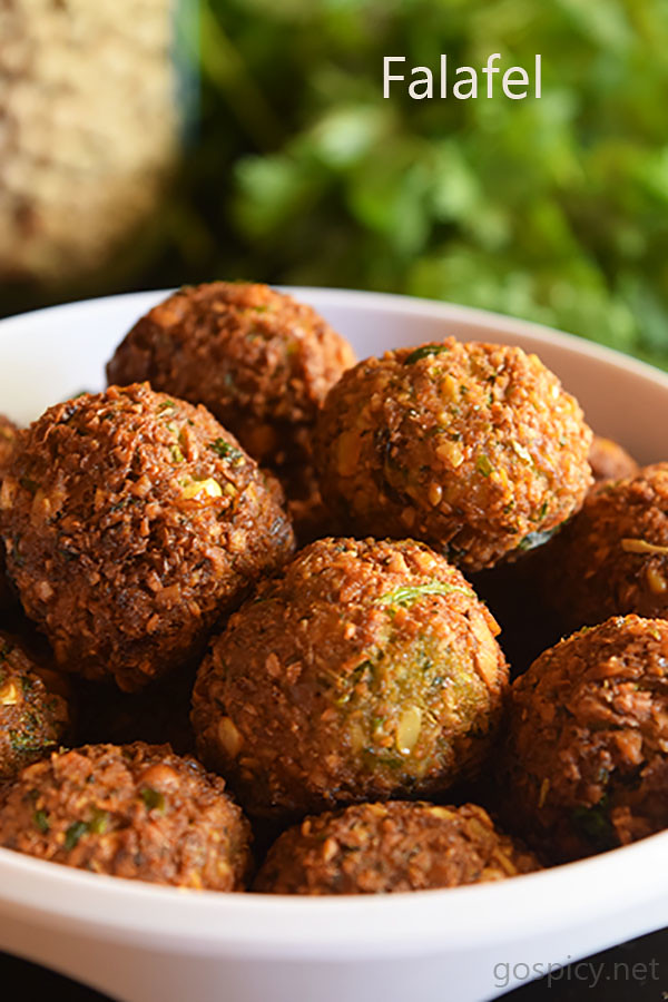 Falafel Recipe by GoSpicy.net