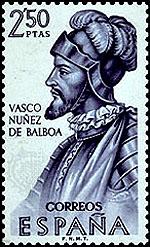 un sello de Balboa