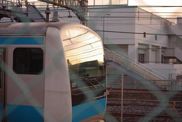 京浜東北線 南浦和駅, Pentax K-M, smc PENTAX-DA L 50-200mm F4-5.6 ED