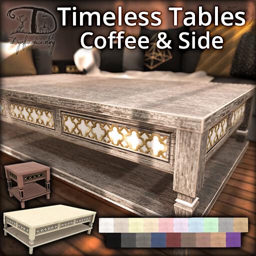 Timeless Table Set - FLF - TeleportHub.com Live!
