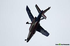 E73 6 F-TENE - E73 - Patrouille de France - French Air Force - Dassault-Dornier Alpha Jet E - RIAT 2014 Fairford - Steven Gray - IMG_3374