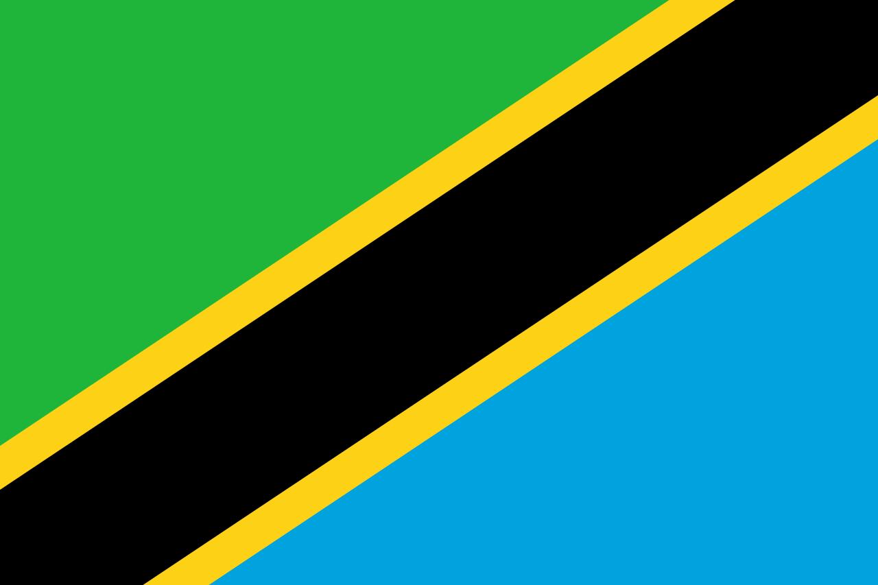 Flag of Tanzania, 1964-date