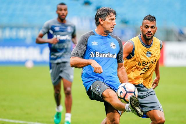 Treino Grêmio 20/02/18