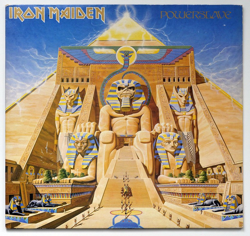 A0430 IRON MAIDEN Powerslave