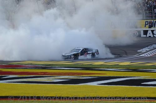 Kevin Harvick Vegas Bournout47