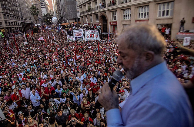 Former President Luiz Inácio Lula da Silva will stand trial before a Federal Court of Appeals  - Créditos: Mídia Ninja
