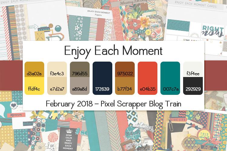 DigitalScrapbook.com February 2018 Blog Train