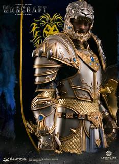 偉大的風暴城之王!!DAMTOYS《魔獸:崛起》萊恩·烏瑞恩 King Llane Wrynn DMLW08 全身雕像作品