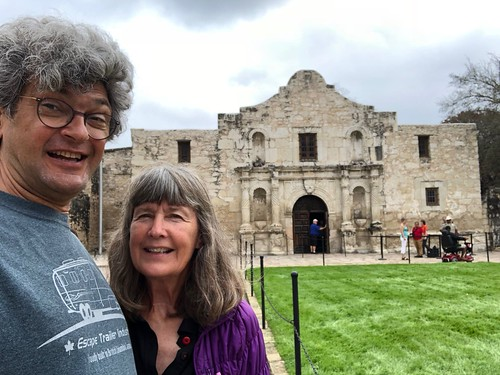 San Antonio - the Alamo Selfie