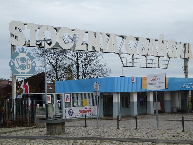Gdansk Shipyard Gates