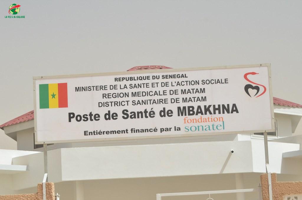 Inauguration d'infrastructures  de base à Mbakhna Par la Fondation SONATEL (24)