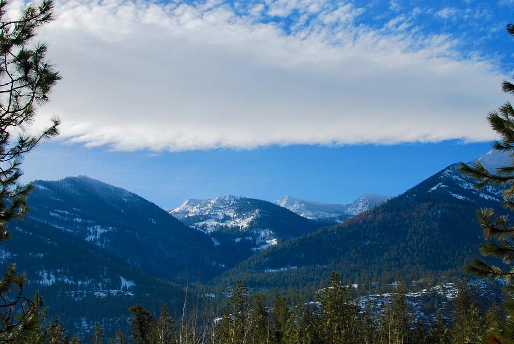Coeur d'Alene Mountans in Wetern Montana