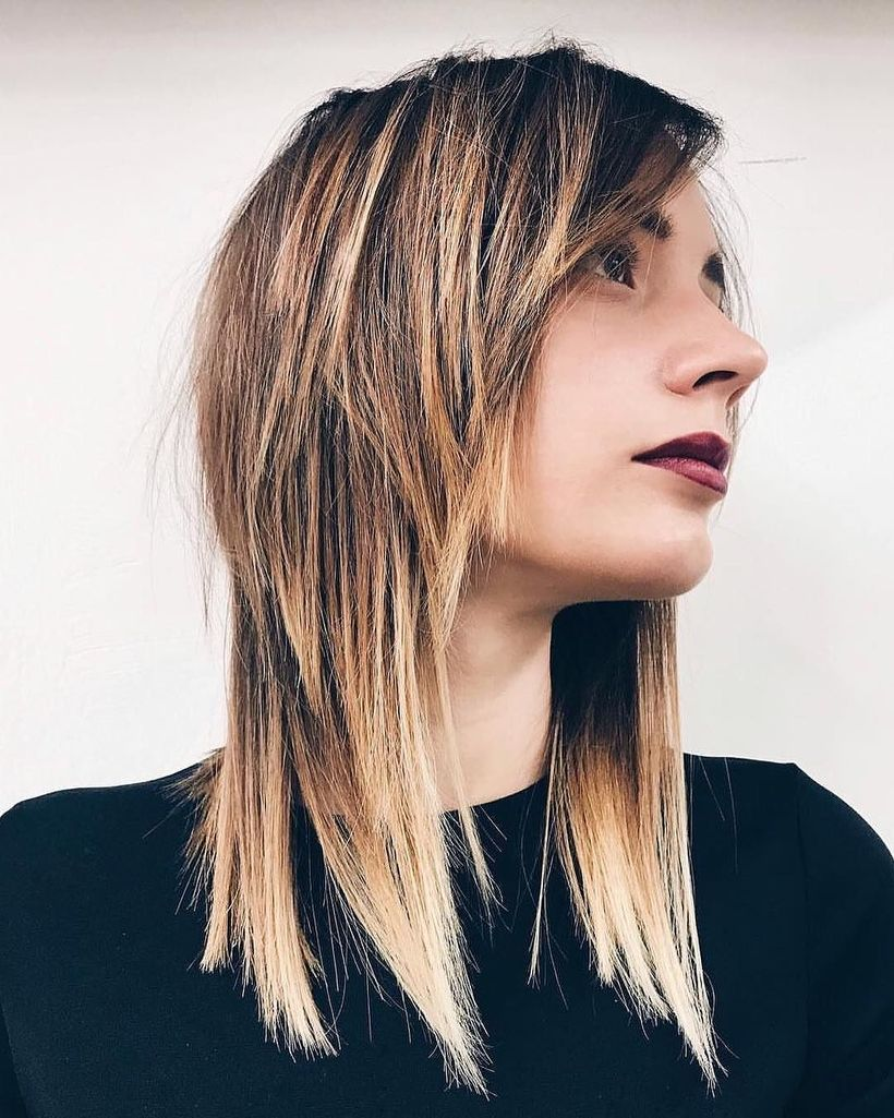 Modern Medium Shag Haircut Hairstyle Ideas For 2018