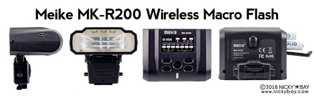 Meike MK-R200 Wireless Macro Flash