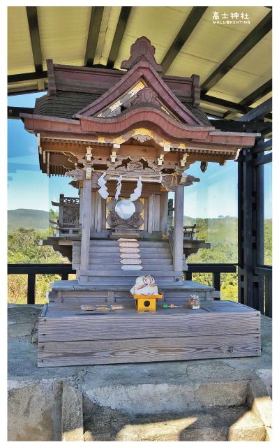 高士神社(白色鳥居)-13