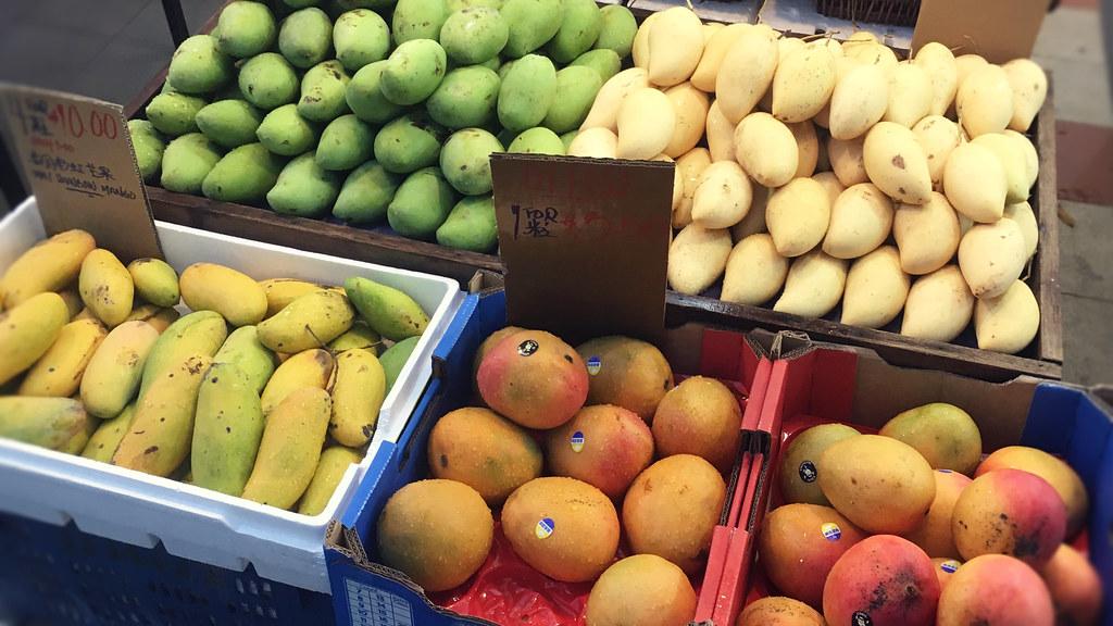 シンガポールのフルーツ