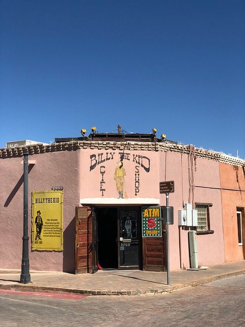 Las Cruces - Billy the Kid gift store