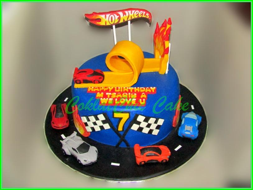 Cake Hotwheels 20cm TSAQIB