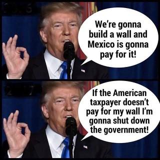 tRump's shutdown