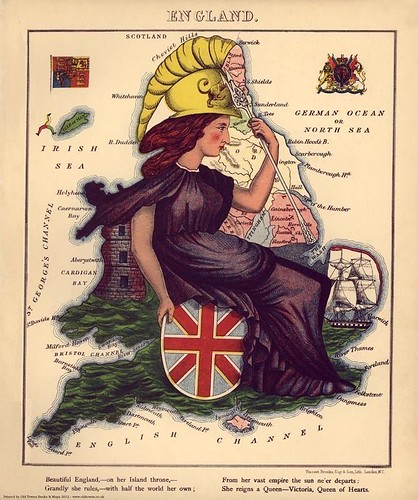 Cartoon-Map-of-England-reproduction-of-an