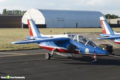E46 7 F-UHRF - E46 - Patrouille de France - French Air Force - Dassault-Dornier Alpha Jet E - RIAT 2010 Fairford - Steven Gray - IMG_8087