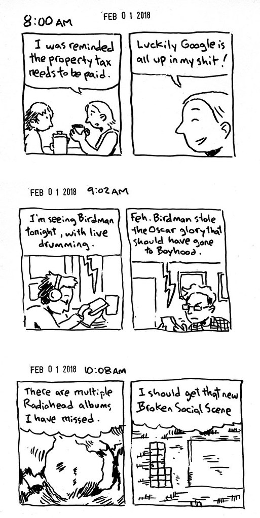Hourly Comic Day 2018 01