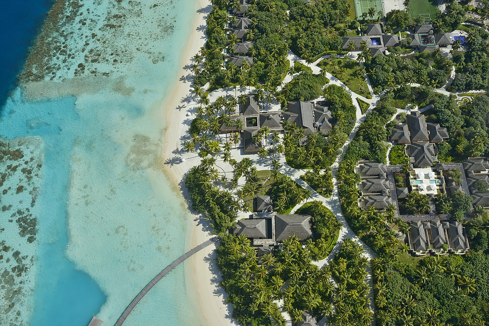 Ayada Maldives, from top view
