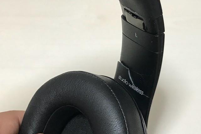 Beats Studio Wirelessのアームが折れた!修理どうする?