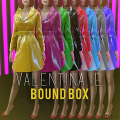 Valentina E. Agent Provocateur For BOUND BOX!