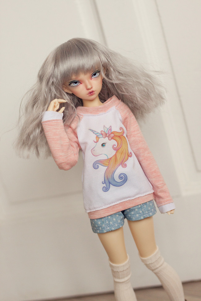 Unicorn pink sweater