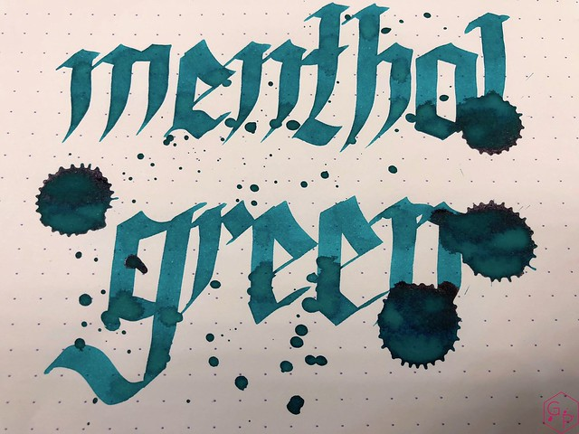 Ink Shot Review KWZI Menthol Green @AppelboomLaren 10