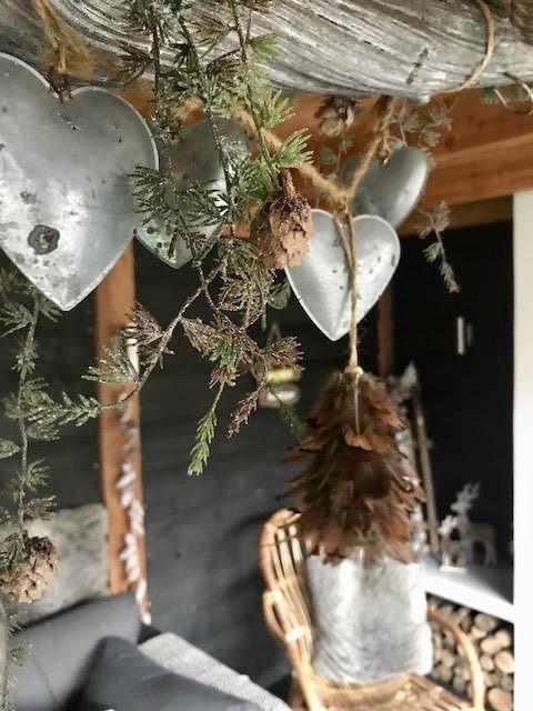 Krans plafond overkapping