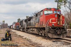 IC 2711 | GE C44-9W | CN Fulton Subdivision