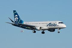 Alaska Airlines (SkyWest Airlines) Embraer ERJ-175 N192SY