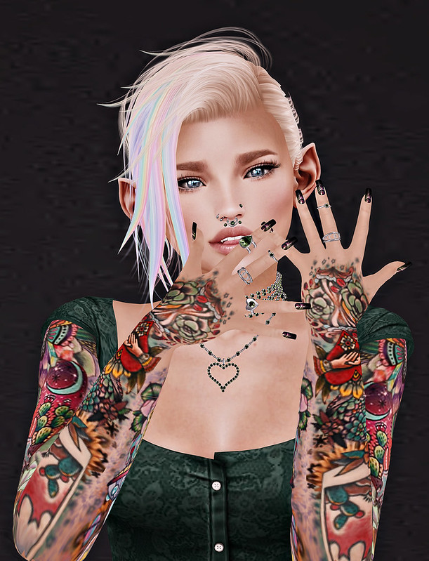 Tattoos and Jewelry