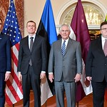 Photos of U.S. Secretary of State Rex Tillerson and State Department leadership in Washington, D.C., during the month of March 2018.