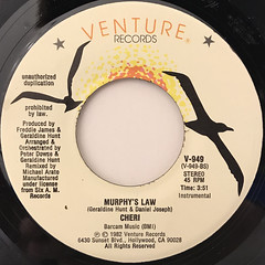 CHERI:MURPHY'S LAW(LABEL SIDE-B)