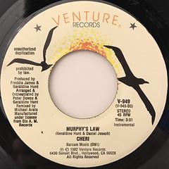 CHERI:MURPHY'S LAW(LABEL SIDE-B)